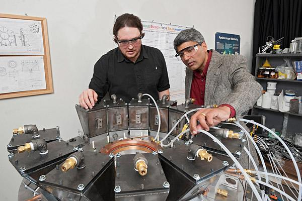 Delaware Ph.D. student hopes to solve energy woes with renewable hydrogen production