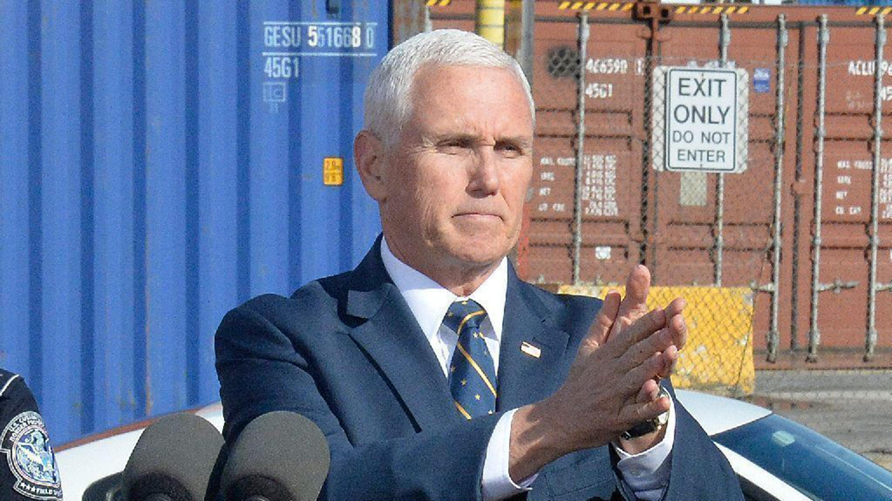 Pence to address GOP convention from Fort McHenry in Baltimore, a city Trump has scorned