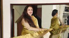 Lovely ladies Rekha, Sridevi, Vidya and Urmila grace Javed Akhtar's birthday bash