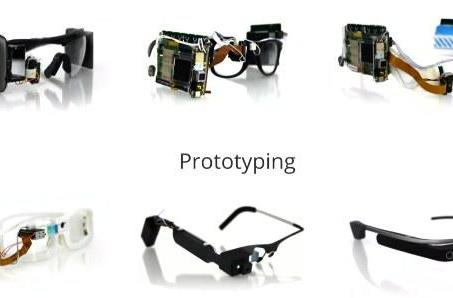 Visualized: Google Glass prototypes