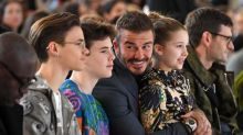 London Fashion Week: All the stars on the front row, from David Beckham to Anna Wintour