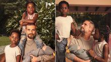 """Bruno Gagliasso posa com os três filhos e fala sobre paternidade: """"Desafio"""""""