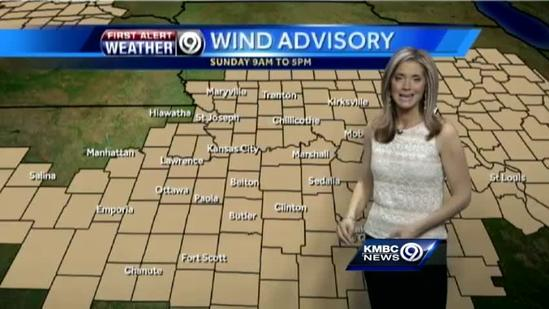 Severe storms may form Sunday afternoon