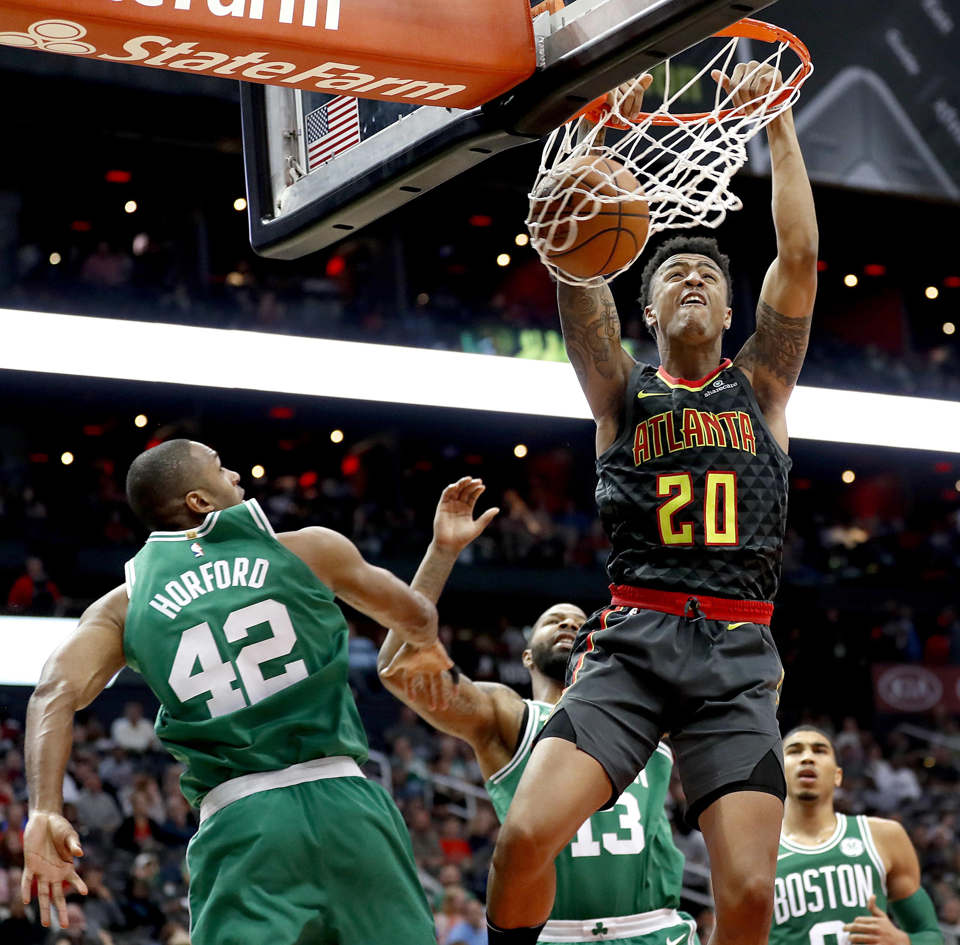 Sources: Hawks Rookie John Collins To Miss 2 To 3 Weeks