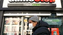 GameStop shares close down 60%, at $90/each