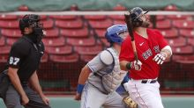 Moreland 2 HRs, walk-off shot sends Red Sox over Toronto 5-3