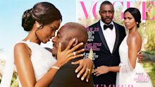 Idris Elba celebrates making history with wife as 'first African couple to cover British Vogue'