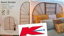 'Stunning' Kmart rattan bed head hack saves hundreds