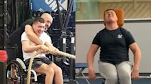 This wheelchair user with cerebral palsy just qualified as a gym instructor and says there are no barriers to fitness
