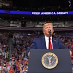 Donald Trump 2020: US president launches re-election campaign at Orlando rally vowing political 'earthquake'