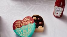 Heinz and Fortnum & Mason have teamed up to create ketchup truffles for Valentine's Day
