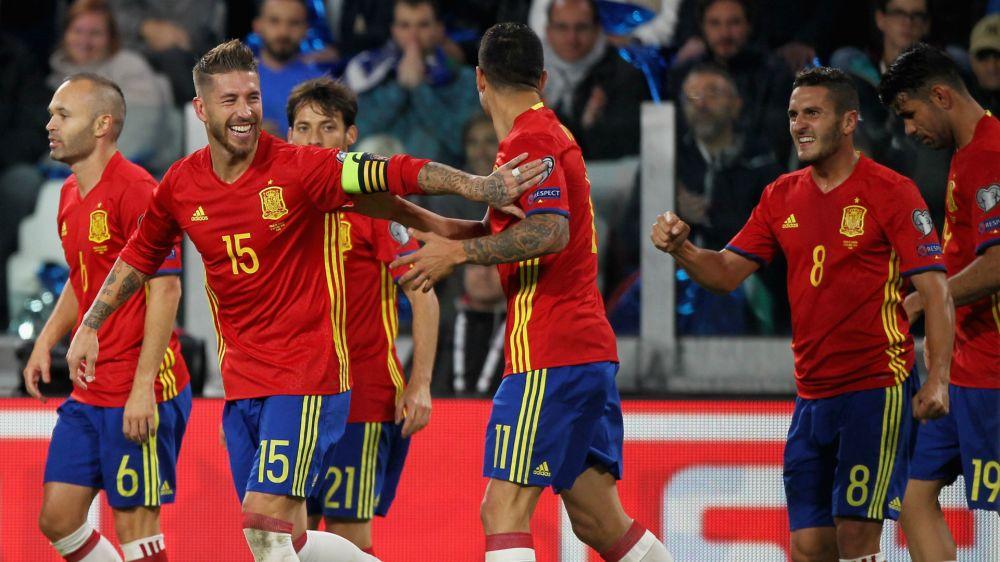 Clasificatorias europeas: cuándo se juega España contra Italia