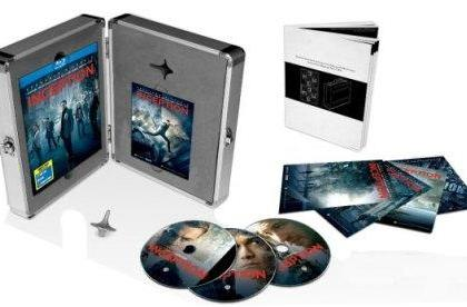 Inception European Limited Edition Blu-ray (w/ briefcase) listed for December 6