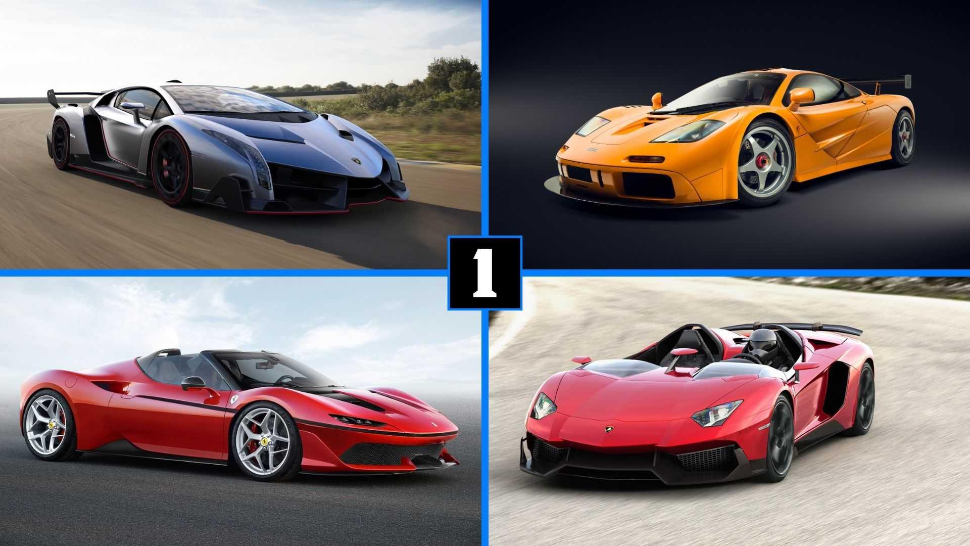 DIAPORAMA - Ces 10 voitures ont été produites à moins de 10 exemplaires