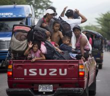 The Latest: Mexico says no special treatment for caravan