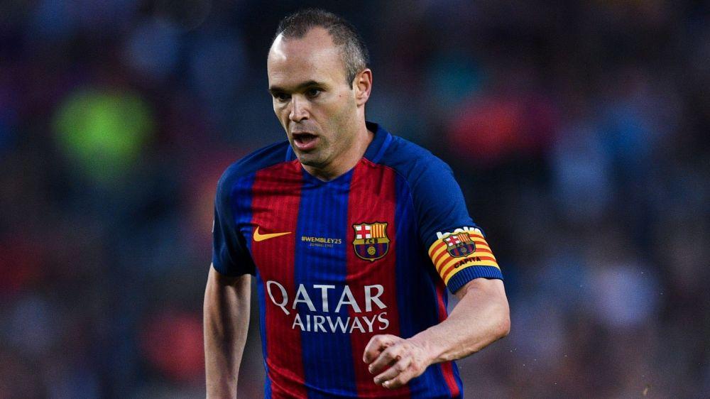 Barcellona: ufficiale il rinnovo a vita di Iniesta con il club blaugrana