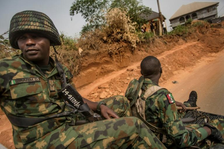 Nigerian soldiers have been caught up in a jihadist insurgency for more than a decade