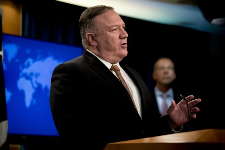 Secretary of State Mike Pompeo, seen here speaking at the State Department, has not ruled out a new summit between the United States and North Korea