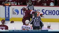 Jay Rosheill and Paul Bissonnette scrap