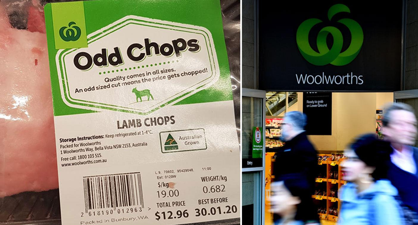 Confused shopper questions Woolworths' 'odd chops' pricing