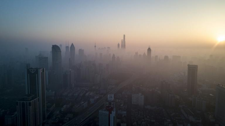 Cities like Shanghai are frequently shrouded in smog from China's pollution-belching factories