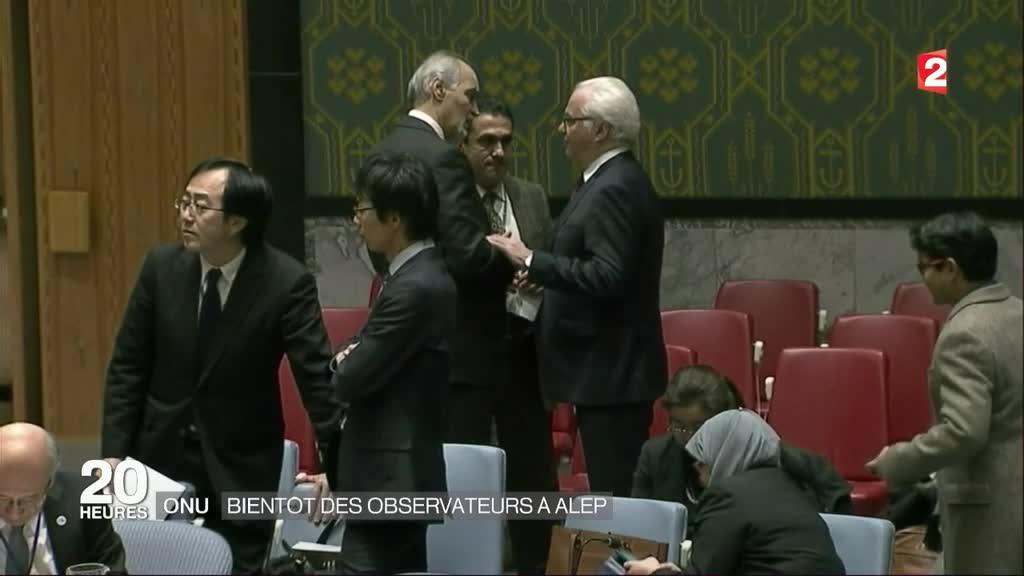 Onu des observateurs bient t envoy s alep for Interieur gov dz vote