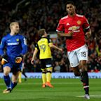 Manchester United 4 Burton Albion 1: Mourinho's men begin EFL Cup defence in style