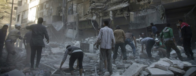 Raids hit two largest hospitals in rebel-held Aleppo: NGO