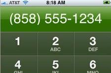 Grandialer, an iPhone app for GrandCentral