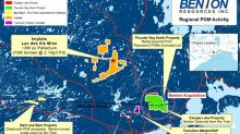 Benton Receives First Anniversary Option Payment from Rio Tinto for Baril Lake Project