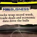 Stock market has record week amid trade deals