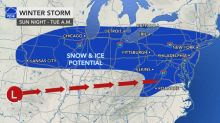 Winter storm could wallop large corridor of US next week