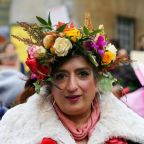 Women's March 2019: See the most beautiful bread and roses costumes from annual rally