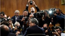 AG Barr testifies, Venezuela erupts in protests, May Day celebrations; World in Photos