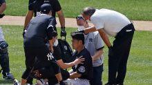 Yanks' Tanaka hit in head; LeMahieu, Cessa test positive