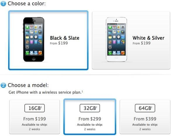iPhone 5 shipping times slip almost immediately to 2 weeks, early birds feel validated