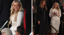 Tiffany Trump riles up the internet with all-white outfit