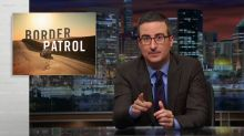 John Oliver shoots down Trump's plan to increase the U.S. Border Patrol