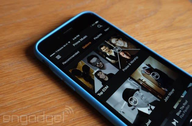 Amazon Prime Music now offers radio stations on iOS