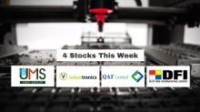 4 Stocks This Week (Best Yield Small Cap) [11 October 2019] – UMS; Valuetronics; QAF; Duty Free