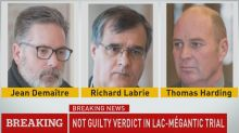 Lac-Mégantic Verdict: 3 railway workers found not guilty