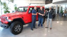 FCA 2017 National Sweepstakes Entrant Wins the All-new 2018 Jeep® Wrangler Rubicon