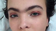 Meet the model proudly rocking her unibrow and proving two eyebrows aren't necessarily better than one