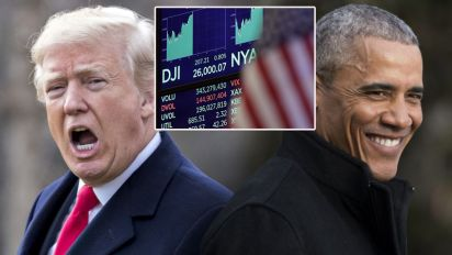Did markets do better under Obama or Trump?