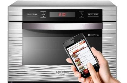 Samsung Zipel oven takes instructions from your Android phone