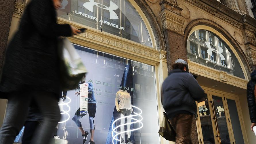 Under Armour is attracting older customers while teens prefer Nike and Vans
