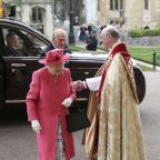 Queen Elizabeth II attends yet another wedding at Windsor