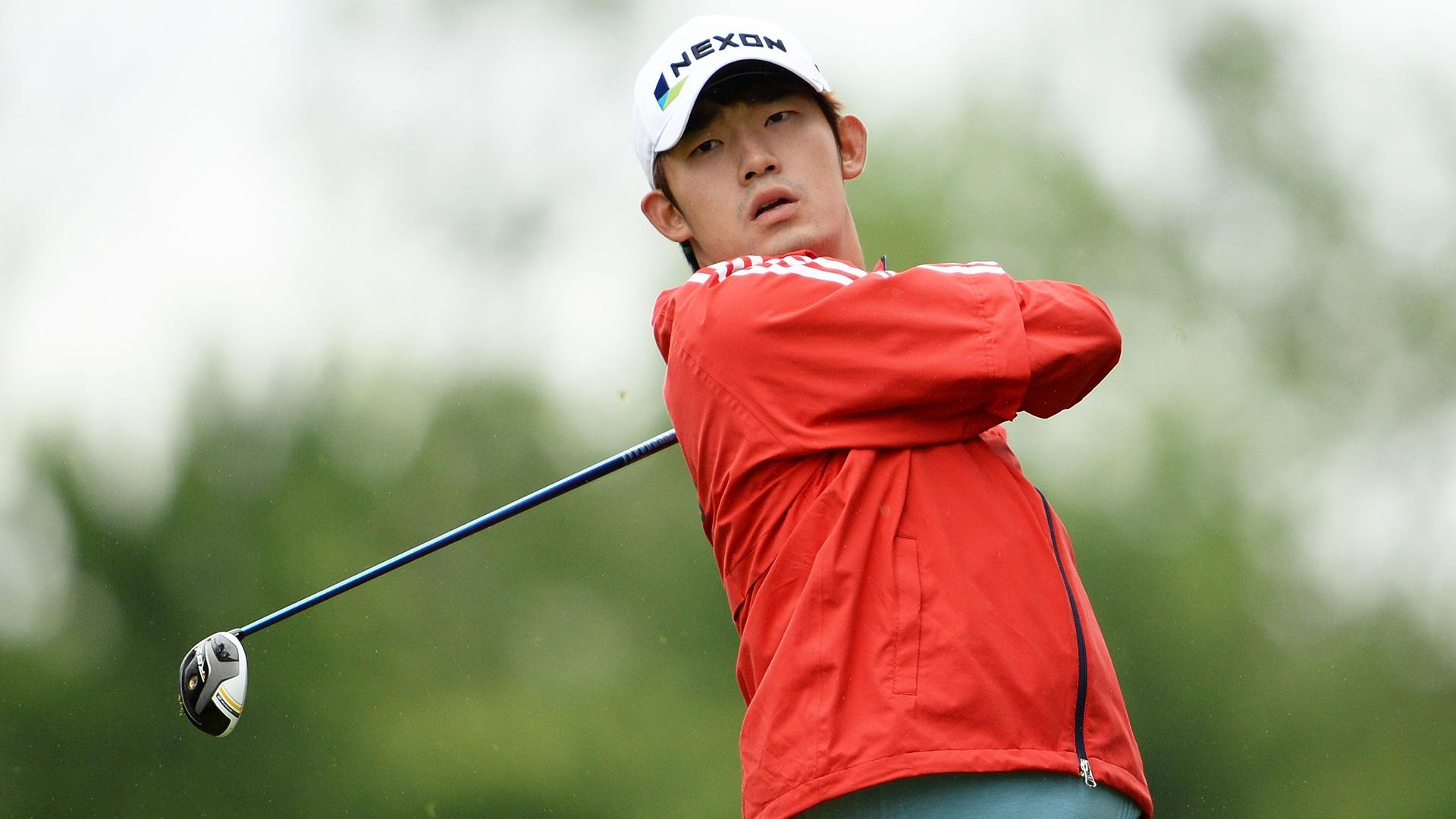 Korean golfer handed 3-year ban for flipping off distracting spectator