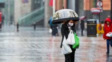 UK weather: Mix of sunny spells and heavy rain before temperatures soar