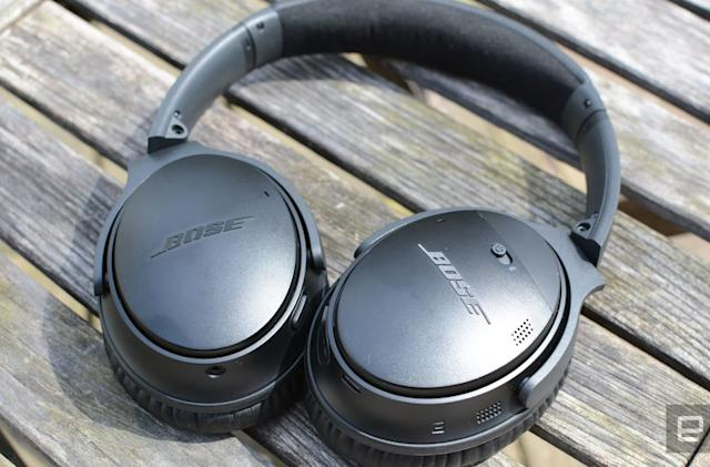 Save over $100 on Bose's QC35 II noise-canceling headphones
